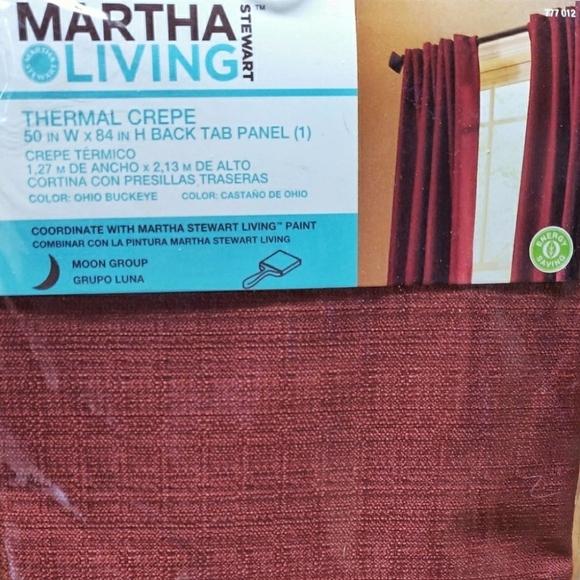 Martha Stewart Accents Nwt 2 Thermal Blackout Curtains Poshmark